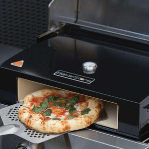 "BakerStone Commercial Grill Top Pizza Oven Box Stainless Steel  - 22 7/8"" x 16 3/8"" x 6 3/8"""