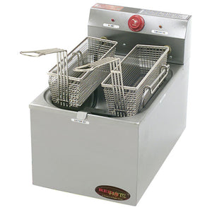 Eagle Group EF10-240 Countertop Electric Fryer - (2) 15 lb Vat,