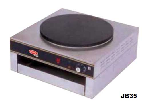 Electric Crepe Cooking Machine 110/60/1 - 1 Heating Plate, Model# JB35