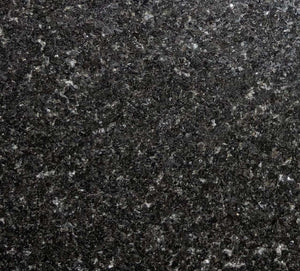 "Granite Table Top 30"" x 42"" Black Galaxy Rectangle for Indoor / Outdoor Tables"