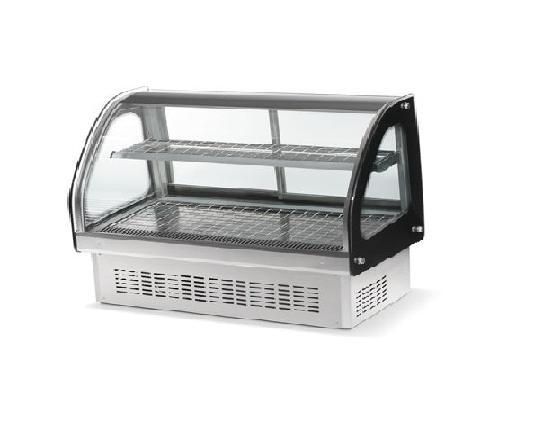 "Anvil (Vollrath owned) HDE-7048 Heated Display 48"" Curve Drop in Display for Commercial Deli Bakery, 110V"