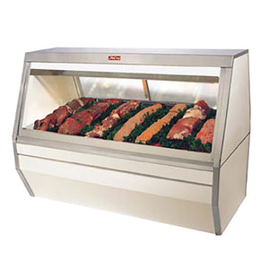 "Howard-McCray SC-CMS35-6-SSKSD - Meat Display Case, 71"" W"
