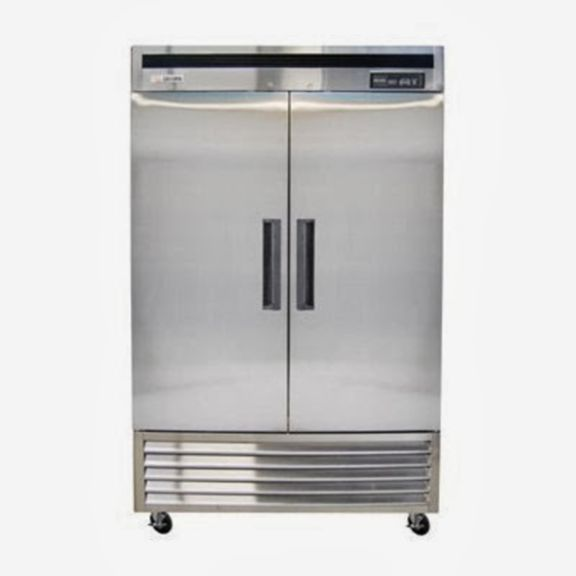 "Saturn N49F Reach-in Freezer 55"", 2 Doors, Bottom Mount 115v"