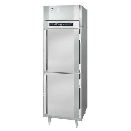 Victory Reach-in Heated Cabinet HS-1D-1-HD, UltraSpec Series, 2 Doors, 115V