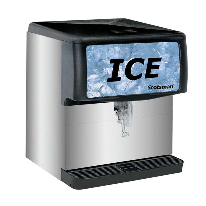 Scotsman ID200B-1 Countertop Cube Ice Dispenser, 200 lb Storage, Cup Fill, 115v