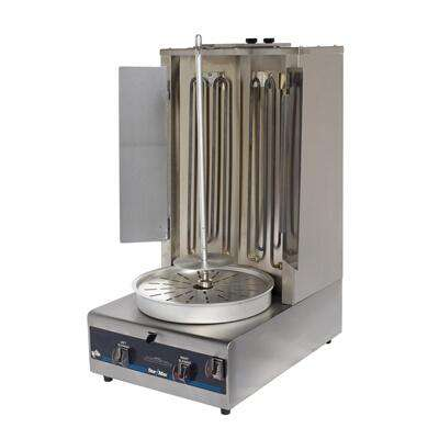 "Star VBE30 Electric Gyro Machine Vertical Charbroiler w/ Infrared Broiler, 45 lbs, 33.25"" H, 208V/1ph"