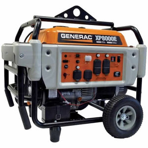 Generac XP8000E - 8000 Watt Electric Start Professional Portable Generator