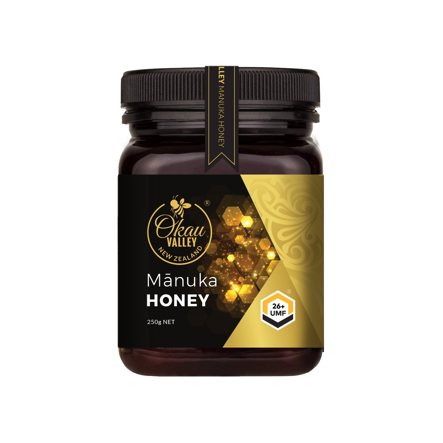 Okau Valley UMF 26+ Mānuka Honey