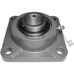 flanged bearing with grease