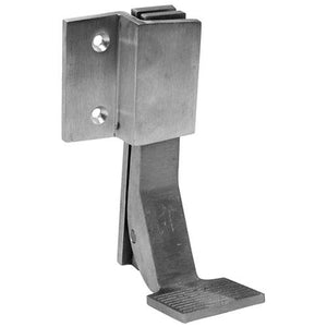 aluminum foot flush
