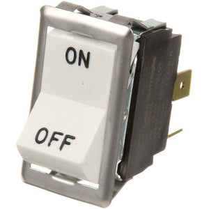 White rocker switch
