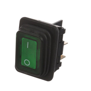 S42-1450 ROCKER SWITCH W/ GREEN LIGHT