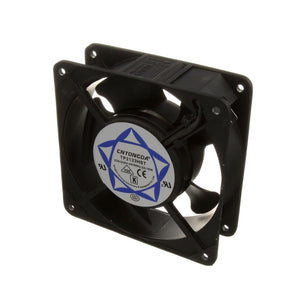 "AXIAL FAN, 220-240V, 2700/3100 RPM, 50/60Hz, 0.14/0.12AMP, 4-11/16"" X 1-1/2"", 4-1/8"" HOLE CENTERS"