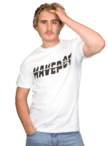 Maverick White Top Tee
