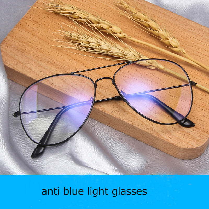 glasses for women's men's anti blue light glasses computer mobile Anti UV radiation protection eye glasses Student flat goggle
