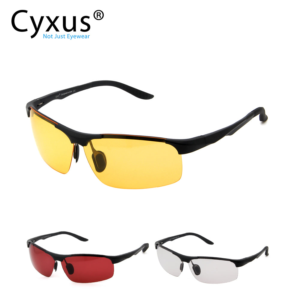 Cyxus Gaming Glasses Blue Light Filter Eyewear Anti Eye Fatigue For Mens Women Gamers 8011