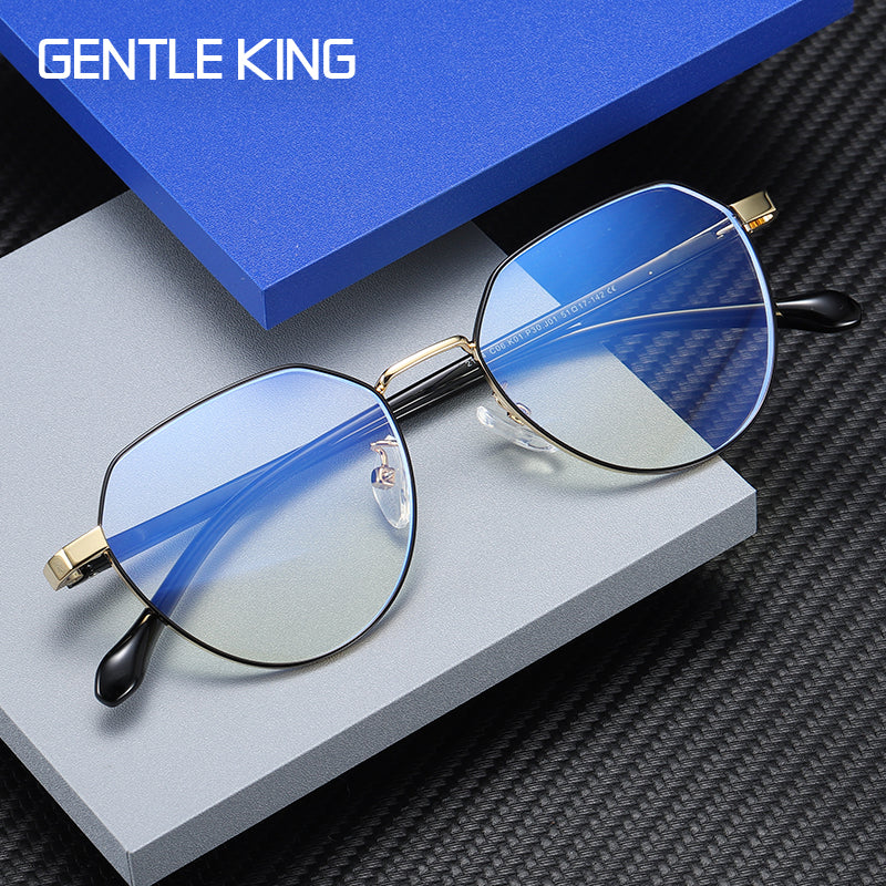 GENTLE KING Anti Blue Light Radiation Ray Blocking Glasses For Men Women Computer Gaming Glasses Lentes Anti Luz Azul Goggles