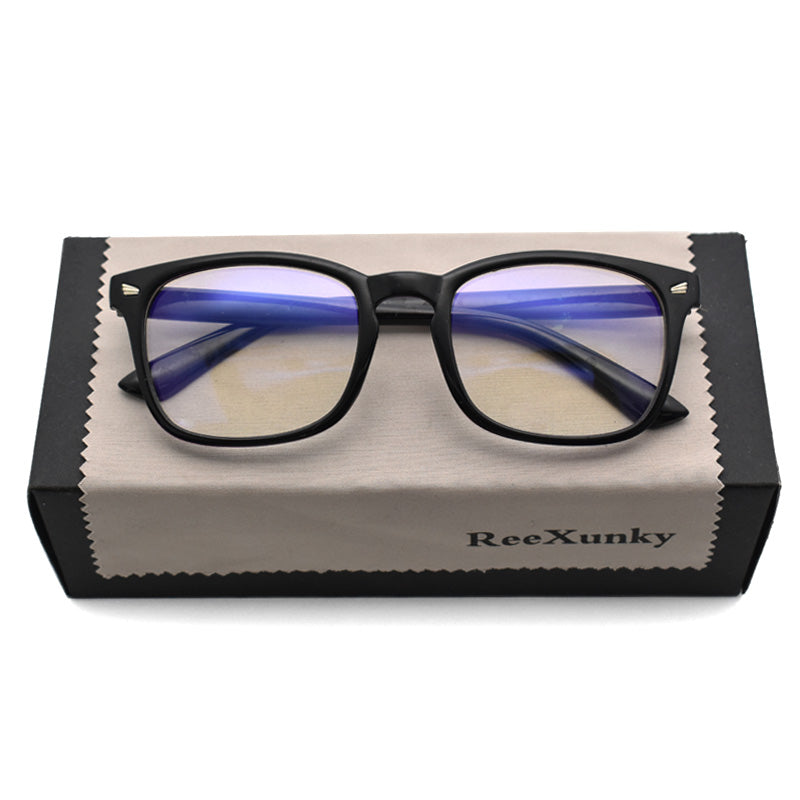 Unisex Anti Blue Rays Computer Glasses Women Blue Light Coating Gaming Glasses Men Anti Eye Eyestrain light Blocking Eyewear