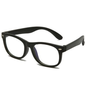 Square Blue Light Kids Glasses Children Optical Frame Eyewear Boy Girls Computer Clear Blocking Anti Reflective Eyeglasses UV400