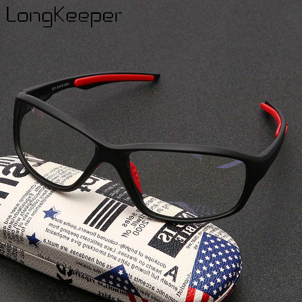 New Anti Blue Light Glasses Frame Men Women Retro Oval Black Clear Lens Eyeglasses Blue Light Blocking Gaming Eyewear Oculos