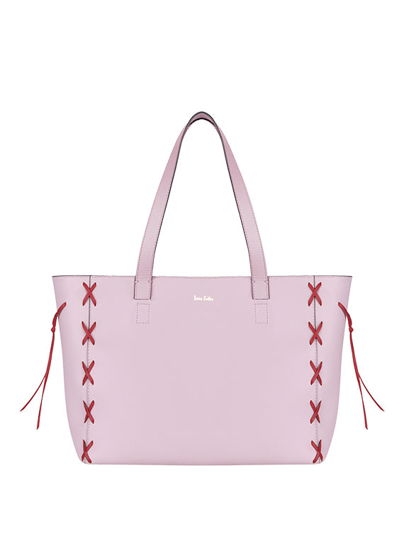 Savannah Tote Rosa/Red