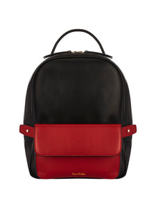Scarlett Backpack Black & Red