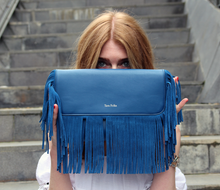 Load image into Gallery viewer, Bonnie Crossbody Cobalt Blue