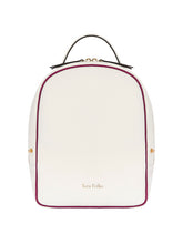 Load image into Gallery viewer, Scarlett Backpack White & Blue