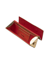 Load image into Gallery viewer, Twelve Oaks Clutch Metallic Gold