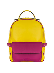 Scarlett Backpack Lemon Bougainvillea