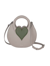 Load image into Gallery viewer, Miss Heart Taupe/Green