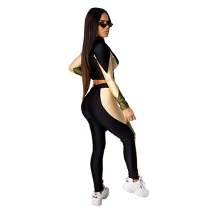 2 Piece Set Women Casual Tracksuit Women Winter Autumn Two Piece Set Top Pants Jogger Sport Matching Sets Sweat Suits Women
