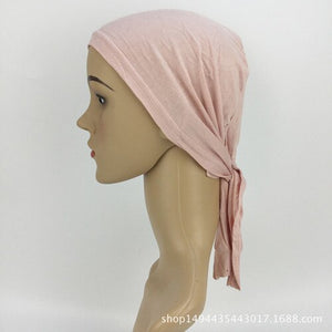 Full Cover Inner Muslim Cotton Hijab Cap Islamic Head Wear Hat Underscarf Bone Bonnet Turkish Scarves Muslim Headcover