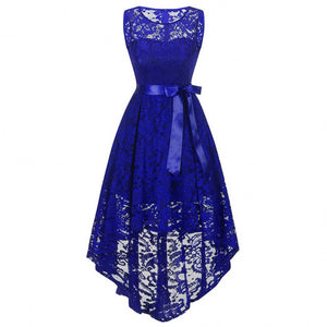 Women Year White Teenager Lace Elegance Wedding Bridesmaid Dress Christmas Princess Party Clothing