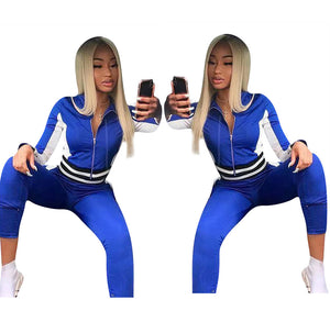 2020 Winter Women Sets Full Sleeve Top Pants Suits Two Piece Set Casual Tracksuits Sportswear Fitness Night Club Outfits GL1096