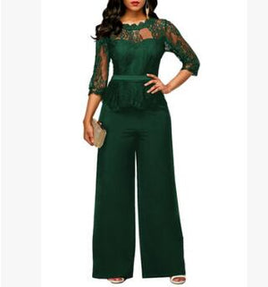 4 COLORS Fashion Sexy Women Casual Top Lace Pants Two Pieces Suits Casual Nightclub Party Tracksuit 5433