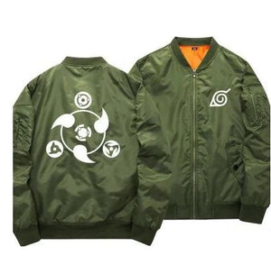 Anime Naruto Baseball Jackets Naruto Uzumaki Cosplay Costume Harajuku Cartoon Zipper Bomber Jacket Autumn Pilot Coat 061003