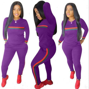 Big Size Joggers Pants Two Pieces Set Tracksuits Tracksuits Sweatshirt Tracksuits 'S Clothing Top Autumn Suits + Pants