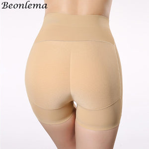 Bonlema Fake Ass Control Panties Butt Lifter Seamless Slimming Underwear Women High Waist Trainer Hip Pads Enhancers Shaper Body