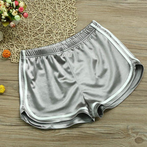 Durable Causal 4 Color Shorts Women Summer Casual Shorts High Waist Workout Shorts B12 A#487