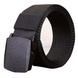 Fashion Belts Men'S Outdoor Sports Nylon Waistband Canvas Web Belt Dazzling #0815