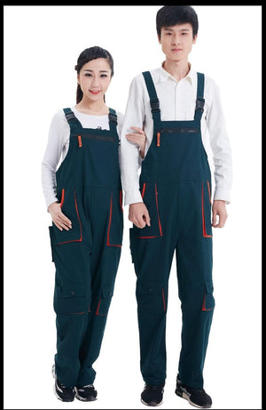 Male Work Wear Strap Jumpsuits Men Bib Working Overalls Pants Fashion Tooling Loose Cargo Overalls 052705