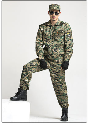 Military Tactical Uniform Combat Army Clothes Men Camouflage Special Forces Soldier Training Militar Wear Clothing Pant Set