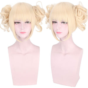 Himiko Toga Cosplay Wig My Hero Academy Costume Play Wigs Halloween Costumes Wigs