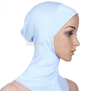 Under Scarf Hat Cap Bone Bonnet Hijab Islamic Head Wear Neck Cover Muslim