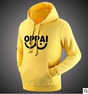 One Punch Man Hoodies Anime One Oppai Hoodies Tide Skateboards Swag Sweatershirt Harajuku Pullover Sudaderas Hombre 6605