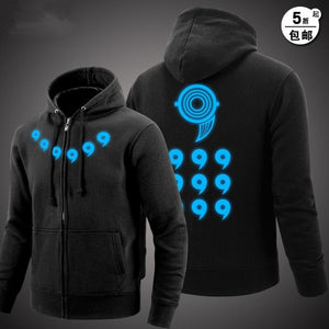 Plus Size Xxxl Anime Naruto Hoodies Naruto Uzumaki Cosplay Costume Harajuku Cartoon Sweatshirts Akatsuki Zipper Jacket 122306