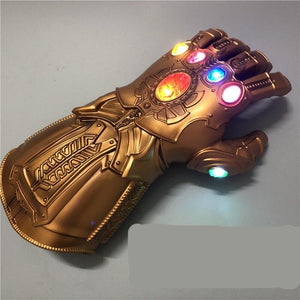 The Avengers 4 Endgame Thanos Led Infinity Gauntlet Cosplay Costumes Infinity Stones War Led Gauntlet Glove KidsAdult Size