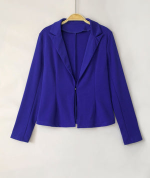 Two Piece Pant Suits 2020 Spring Summer Long Sleeve Casual Sexy Jacket+long Trouser 2 Piece Set White Blue Black Outfit