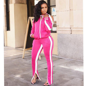 Two Piece Set Top Pants Tracksuit Women Winter Autumn Sportwear Ladies Casual Sets Sport Sweat Suit Women 2 Piece Outfits